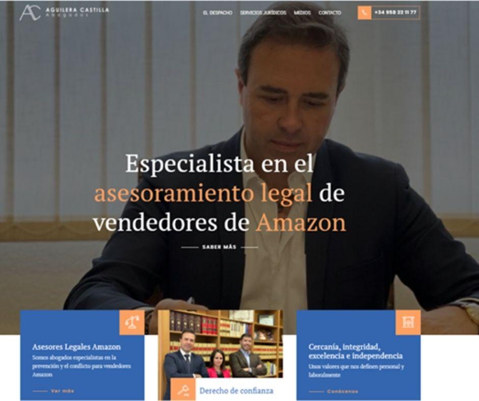 Nueva web Aguileracastilla.es